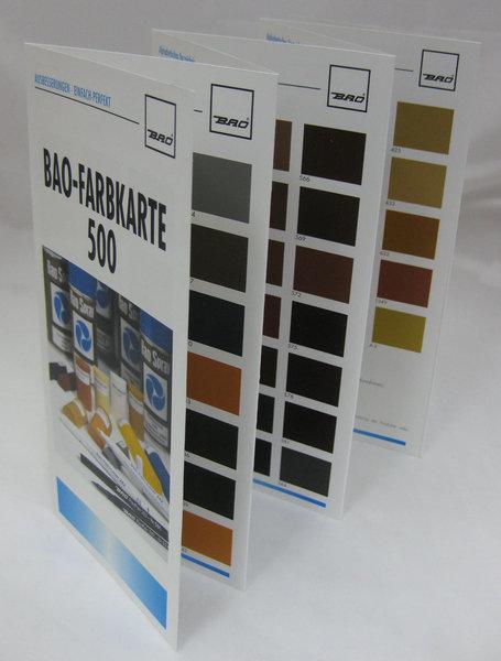 bao farbkarte 500 1 st ck. Black Bedroom Furniture Sets. Home Design Ideas