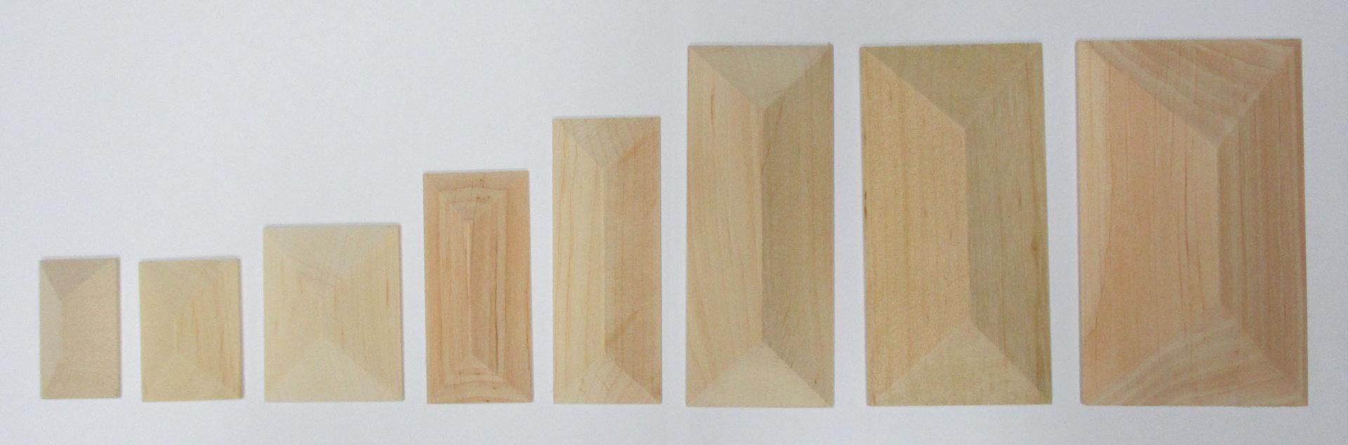 Holzquader Aus Erlenholz Lange 40 Mm Breite 24 Mm